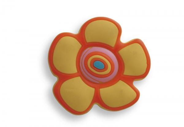 Buton copii floare galbena