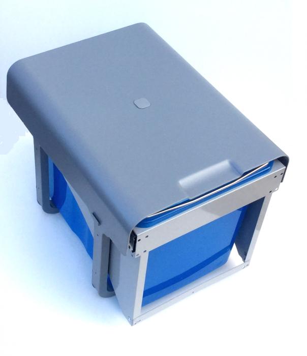 Cos de gunoi incorporabil Ekko Front cu 1 compartiment x 34 litri