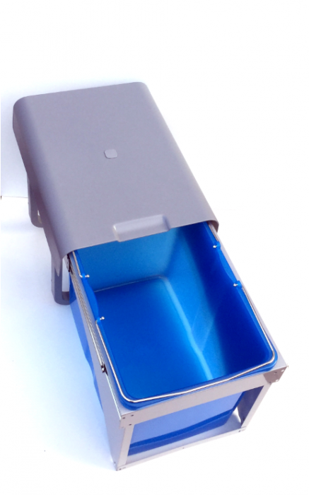 Cos de gunoi incorporabil Ekko Front cu 1 compartiment x 34 litri 0
