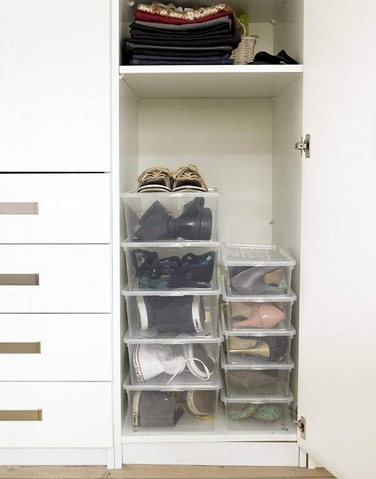 Cutie depozitare pantofi 345x190x96