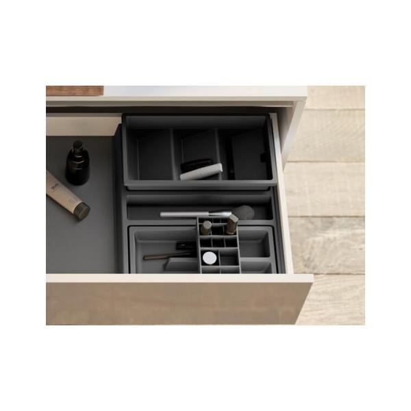 Organizator sertar pentru produse de machiaj si bijuterii ,tip SP , gri orion, 400 mm