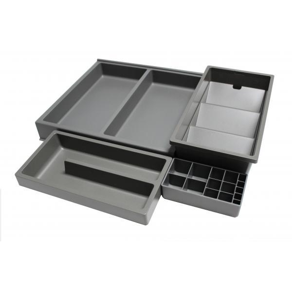 Organizator sertar pentru produse de machiaj ,tip VL , gri orion, 350 mm