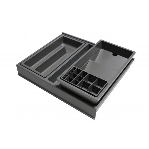 Organizator sertar pentru produse de machiaj ,tip VL , gri orion, 400 mm