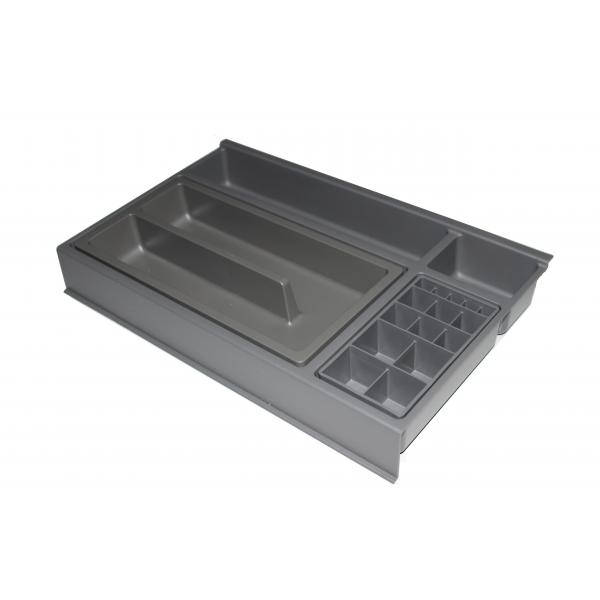 Organizator sertar pentru produse de machiaj ,tip VM , gri orion, 400 mm