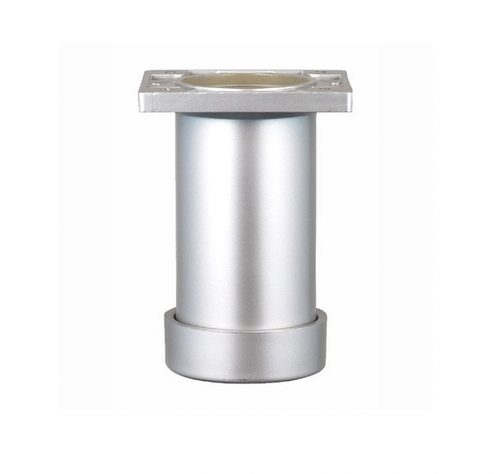 Picior cilindric reglabil, H100, pentru mobilier