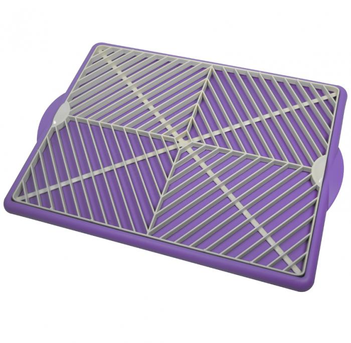 Scurgator universal pentru bucatarie violet