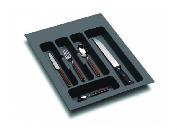 Suport organizare tacamuri,gri orion, pentru latime corp 400 mm