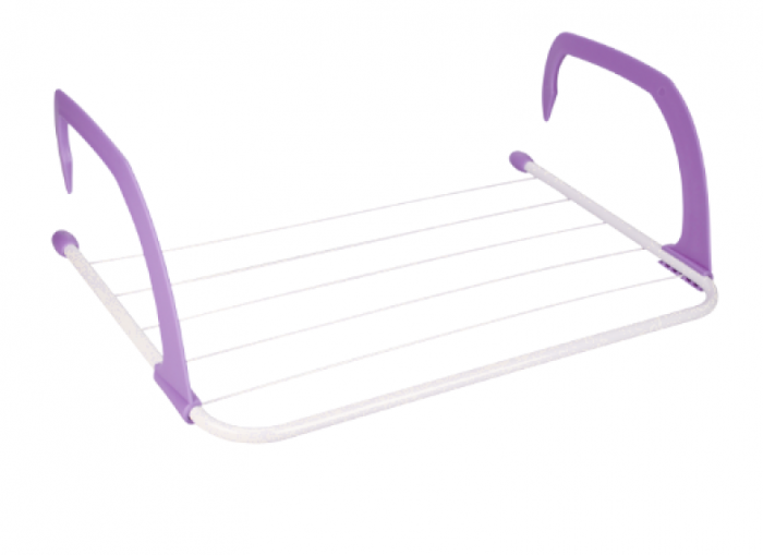Uscator rufe calorifer sau balcon violet
